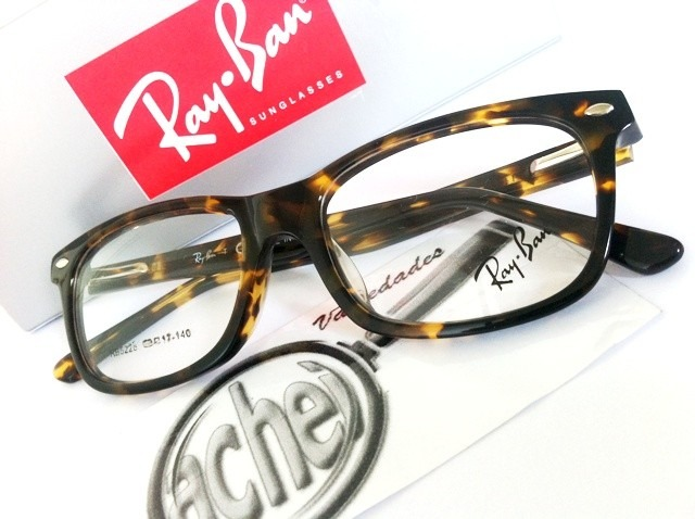 Armação Oculos Grau Rb5228 Wayfarer Tartaruga Marrom Rayban - R  97 ... 0453129170
