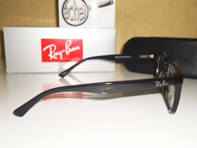 799c8feea Armação Oculos Grau Rb5285 Wayfarer Tartaruga Acetato Rayban - R$ 97 ...