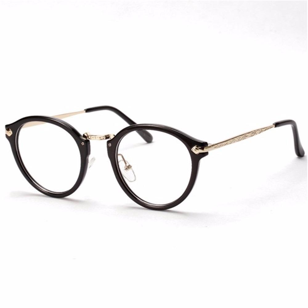 6cba1cfdf22fe Armações De óculos óculos De Armação Do Vintage Redondas