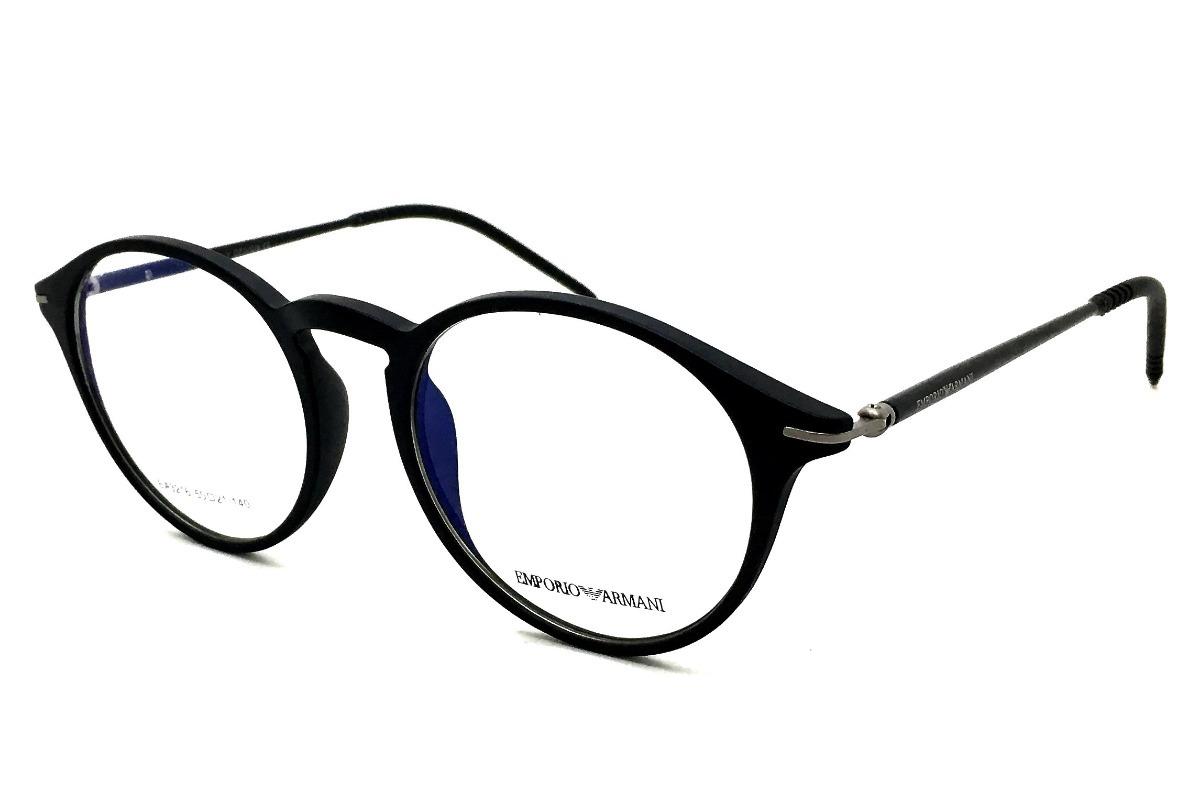 Armação Óculos Grau Redondo Ea3216 Acetato Original - R  123,00 em ... 5ae83ca1e9