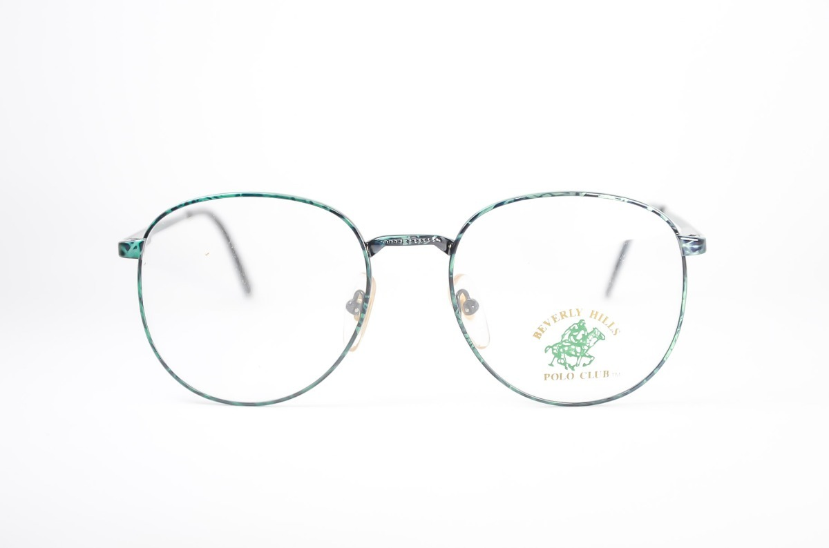 armação óculos grau redondo feminino verde rajado retro. Carregando zoom. bf46e53d6d