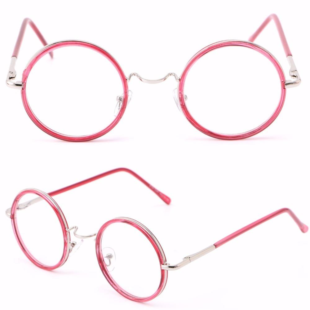 armação óculos grau redondo novo retro vintage feminino de. Carregando zoom. b082f39973
