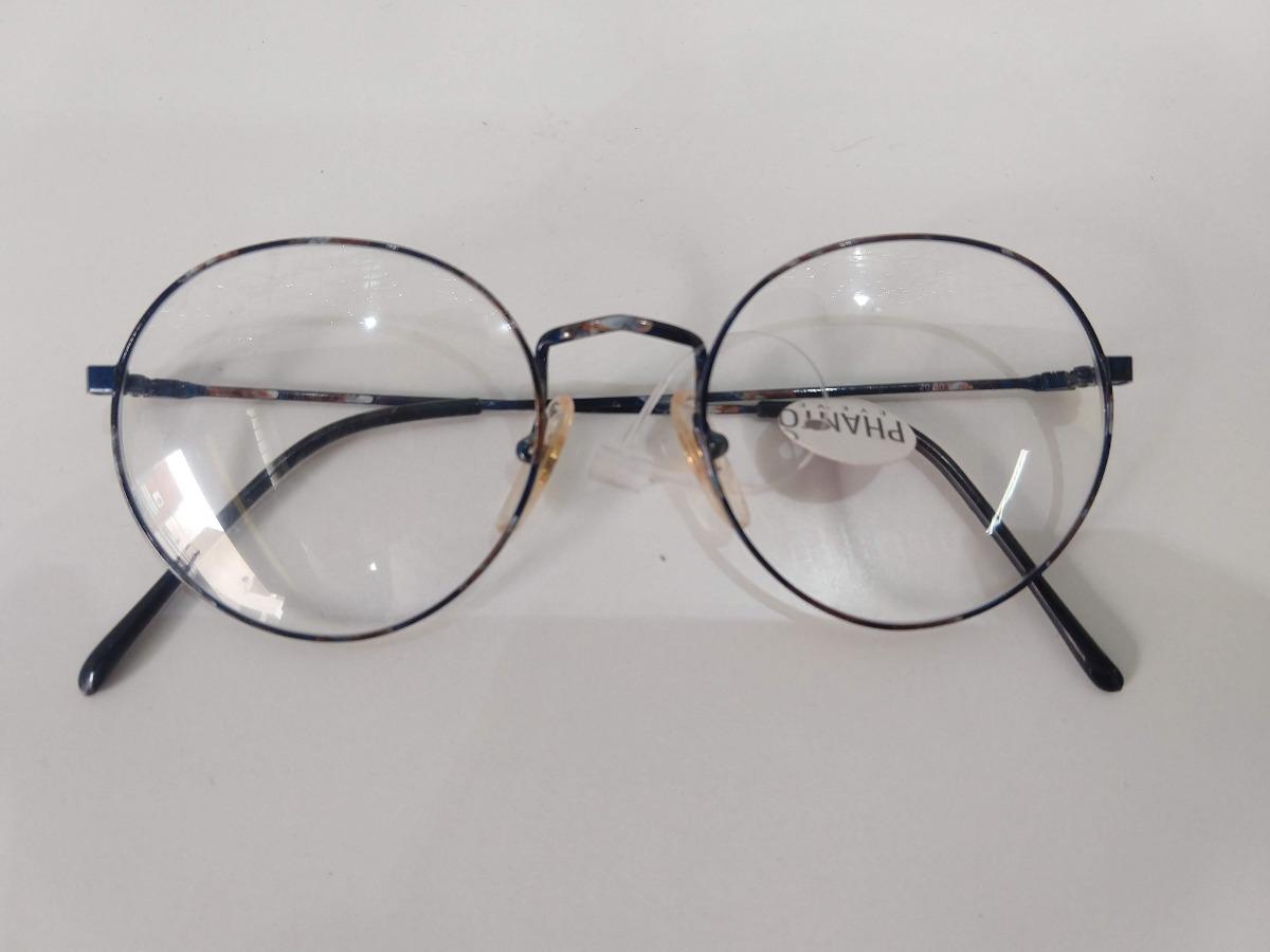 f03a4f9671a54 armação óculos grau redondo preto fininho pequeno rajado. Carregando zoom.