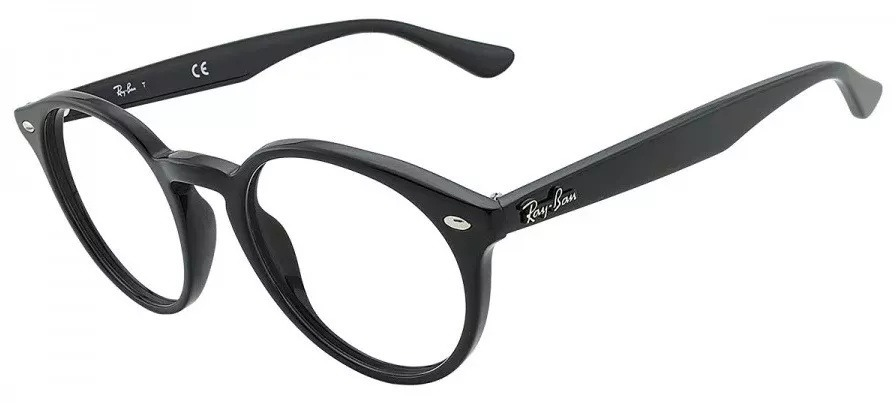 2f98a3f384ed2 armação oculos grau redondo ray-ban original rb2180v 2000. Carregando zoom.
