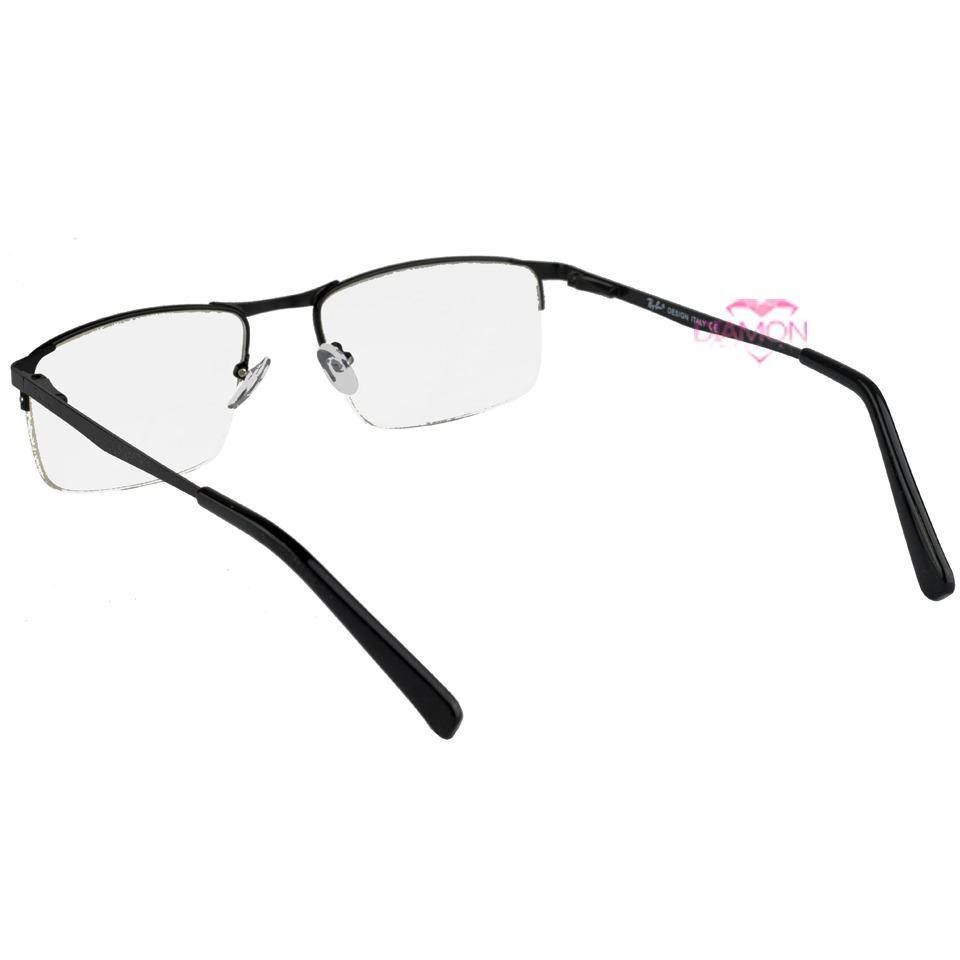armação óculos grau sem aro metal acetato masculino 1681. Carregando zoom. 5bdeaea79d