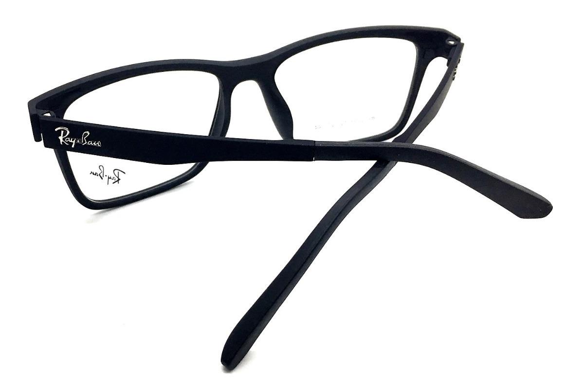armação oculos grau sol masculino 2 clip on rb2088 original. Carregando  zoom. 46c925f23b
