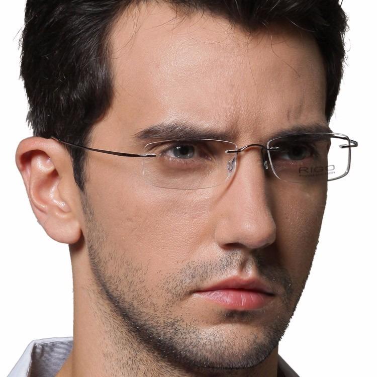 02173074c732b Armação Oculos Grau Titanio Armacoes Masculino Feminino A01 - R  99 ...