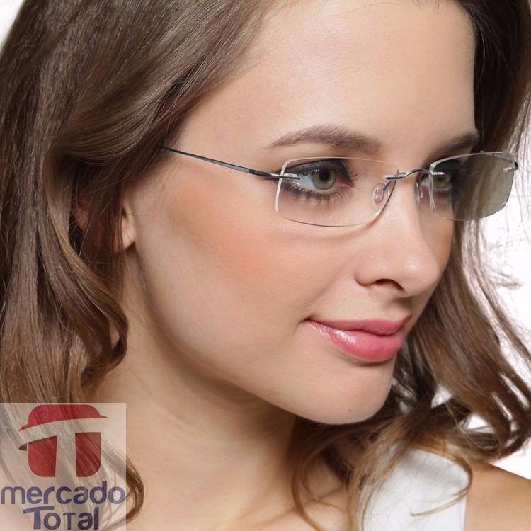 c3157f01ef1a0 Armação Oculos Grau Titanio Original Masculino Feminino A01 - R  94 ...