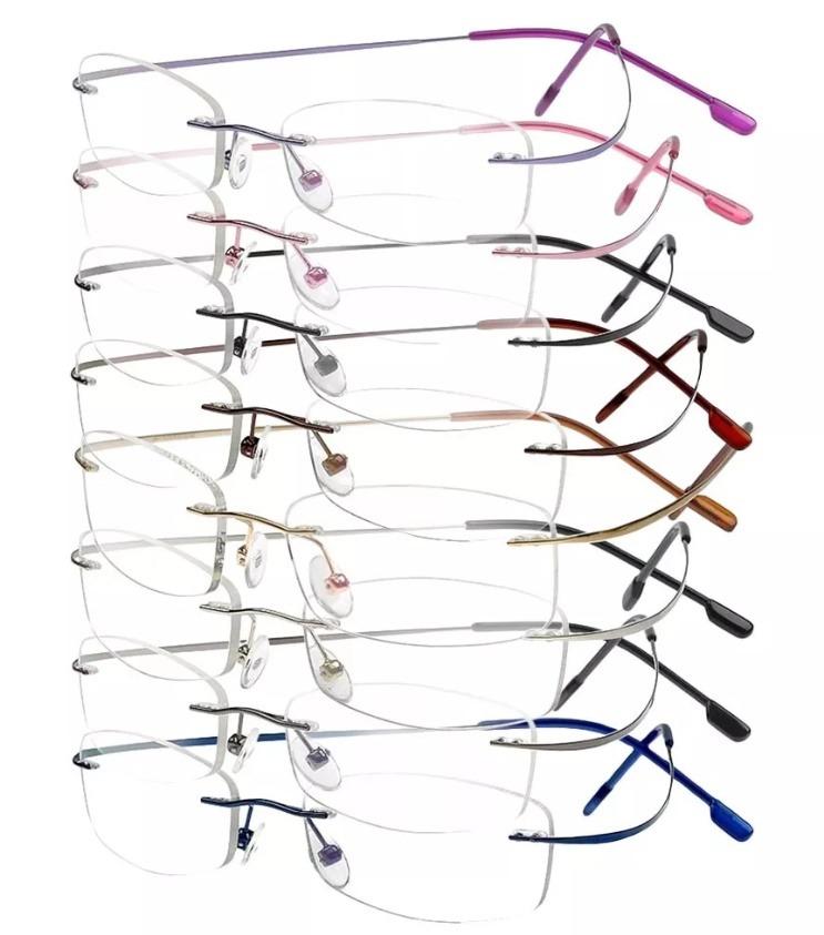 51dec52aaf7ab armação oculos grau titanio original masculino feminino a01. Carregando  zoom.