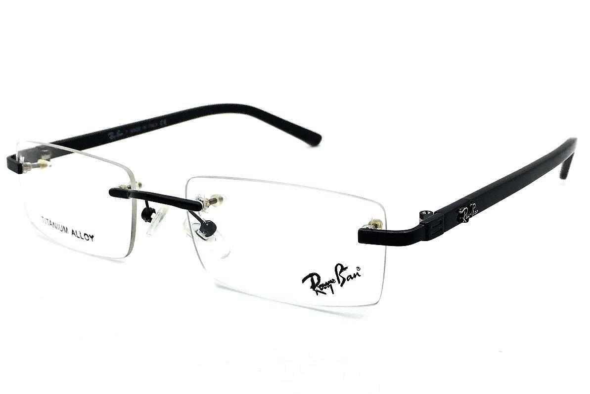 26946be4dbc4c Armação Oculos Grau Titânio S  Aro R9122 Original Promoção - R  97,00 em  Mercado Livre