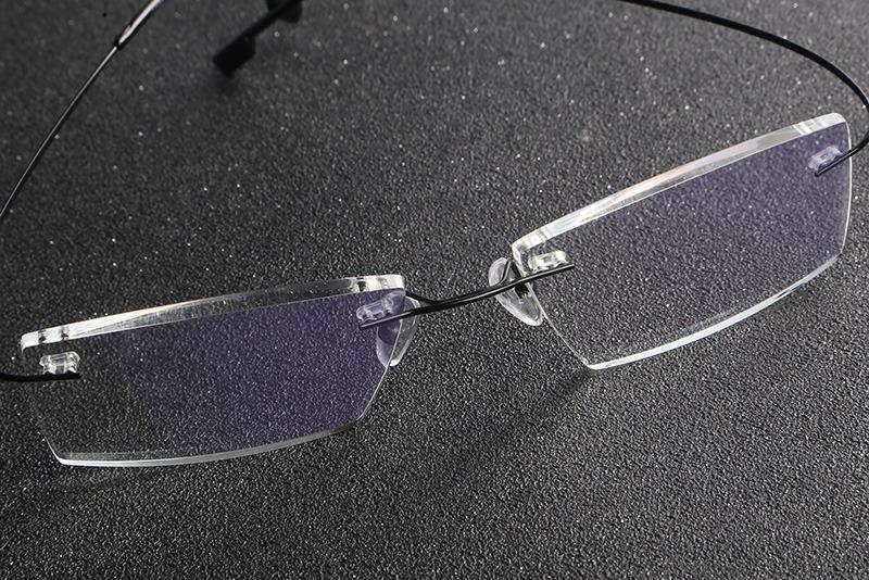 885605389 armação óculos grau titânio sem aro flexível promoção a07. Carregando zoom.