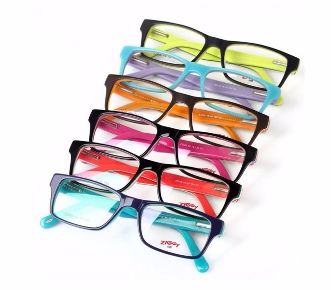 0a337d1cf Armação Óculos Grau Vários Modelos E Cores Infantil Juvenil - R$ 120 ...