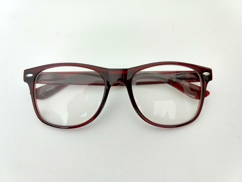 Armação Óculos Grau Vinho Geek Nerd Grande Acetato - R  79,00 em ... f3d13f59a7
