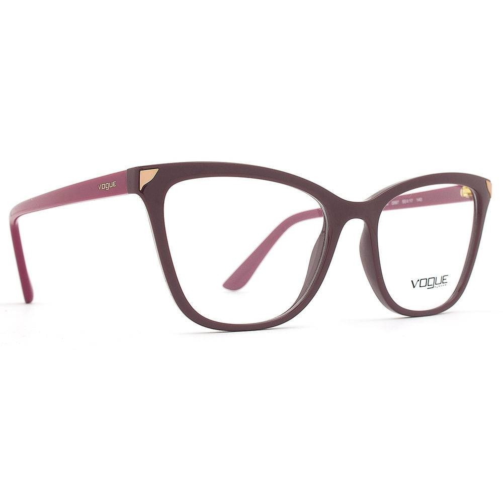 36bed3d69be84 armação oculos grau vogue vo5206 2597 original gatinho. Carregando zoom.