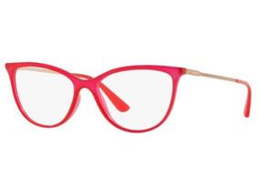 f349f850a Oculos De Grau Feminino Vogue Vermelha - Óculos no Mercado Livre Brasil