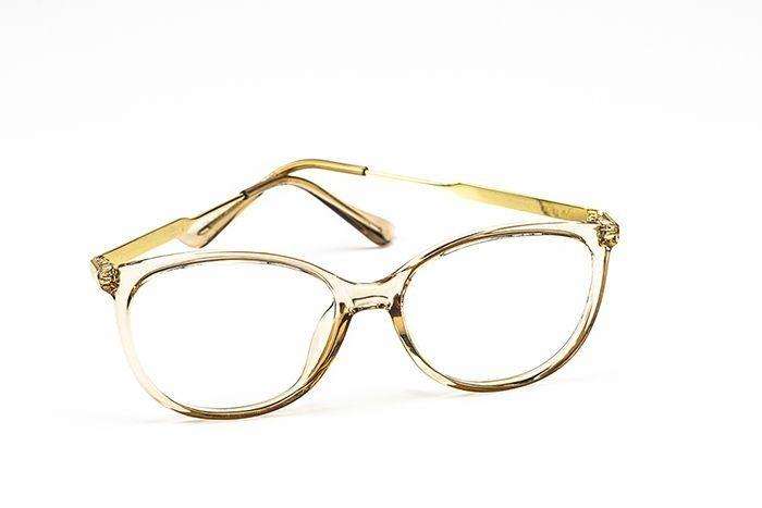 da7895142671a Armação Oculos Grife Og 400-c Feminino Com Lente Sem Grau - R  85,00 ...