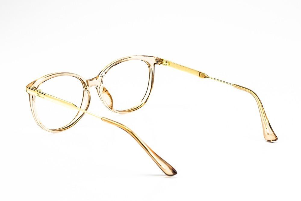 4d70e7c3c4745 armação oculos grife og 400-c feminino com lente sem grau. Carregando zoom.