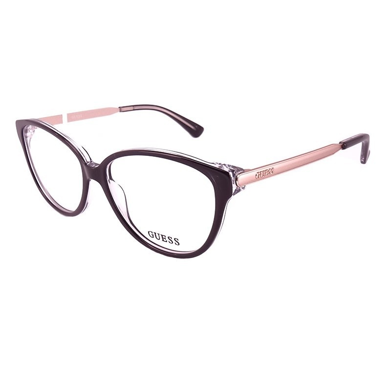 09c772ca090a1 Armação De Óculos De Grau Guess Feminino - Gu2488 003 - R  443