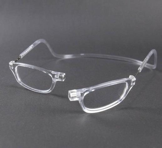 fb6b7f207 Armação Óculos Imã Magnético Frontal Unissex Transparente - R$ 36,00 ...