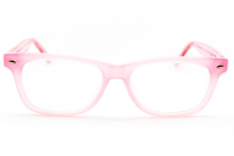 2bb8d8336b7e7 Armação Óculos Infantil Menina Rosa 6 A 13 Anos - B1096 C3 - R  79 ...