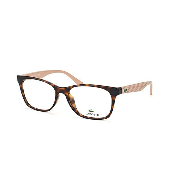 2f41bddd3a844 Armação De Óculos De Grau Lacoste Feminino - L2767 214 - R  549