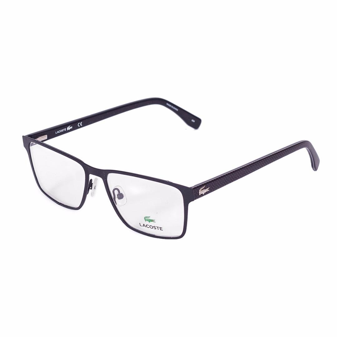 868a585e27611 Armação De Óculos De Grau Lacoste Masculino - L2205 001 - R  609