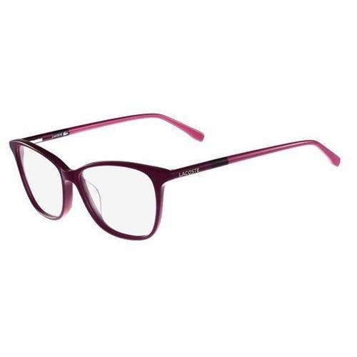 Armação De Óculos De Grau Lacoste Feminino - L2751 539 - R  580,00 ... 5b89178946