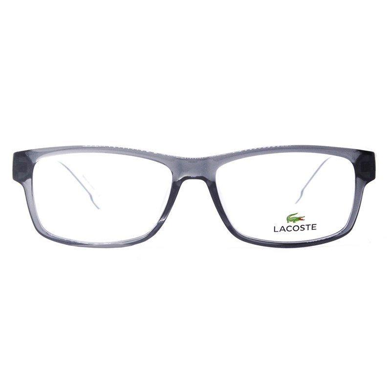 d35efb499c088 Carregando zoom... óculos lacoste armação. Carregando zoom... armação de óculos  lacoste l2707 035 53 - cinza transparente