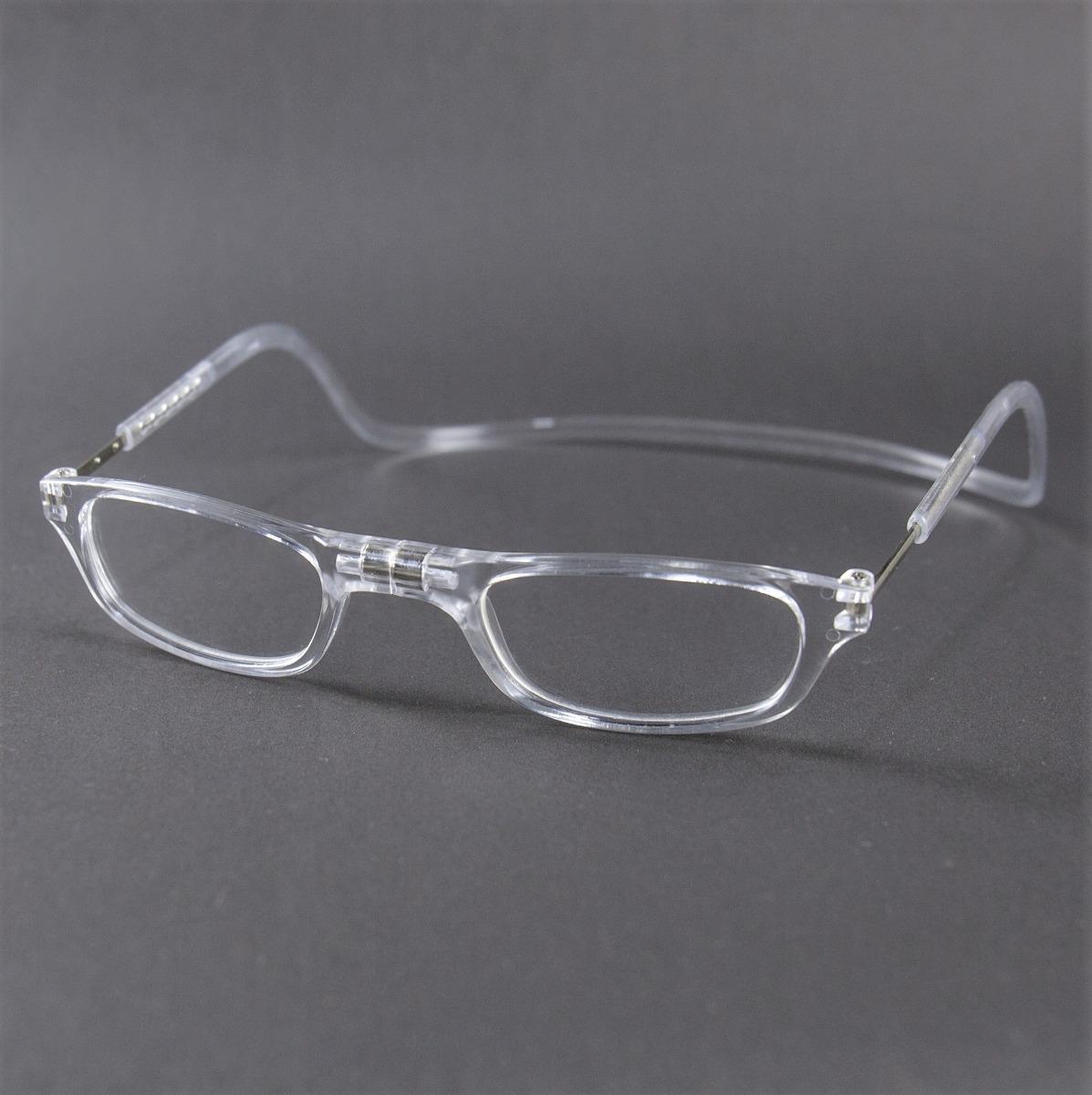 42c4a6770 Armação Óculos Leitura Clikko Cristal Com Imã-prático - R$ 249,00 em ...
