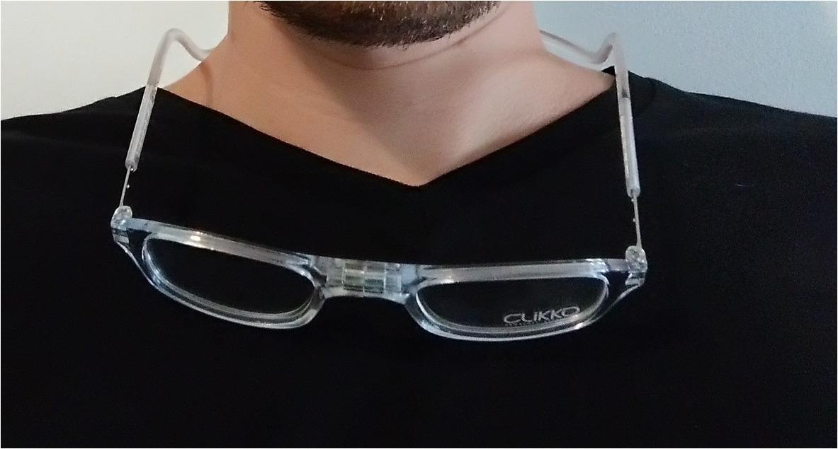 d694ec74c Armação Óculos Leitura Clikko Cristal Com Imã-prático - R$ 249,00 em ...