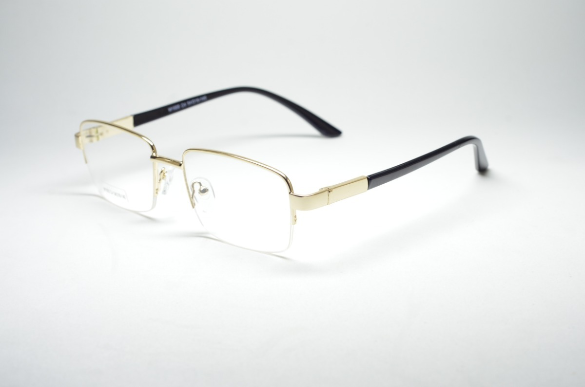 715e0751643b8 armação óculos masculino dourado tradicional quadrado. Carregando zoom.