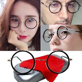 b7e27aaee Armação Óculos Metal Redonda Harry Potter John Lennon Hippie
