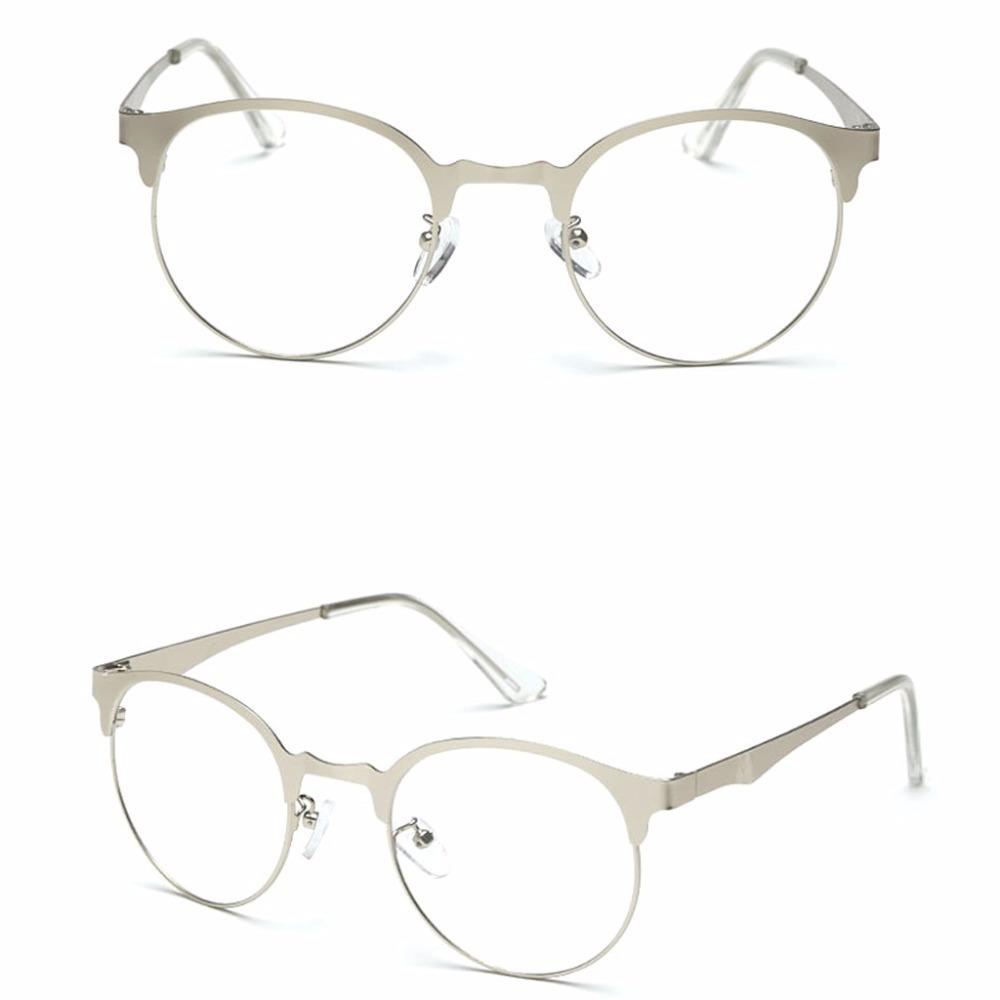armação óculos metal redondo acessório descanso estética df. Carregando  zoom. fb3a0e605b