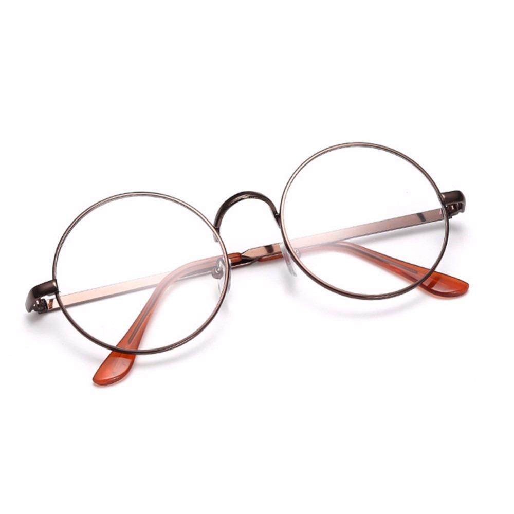 1ec1c161a0d70 armação óculos metal redondo acessório descanso retro bp. Carregando zoom.