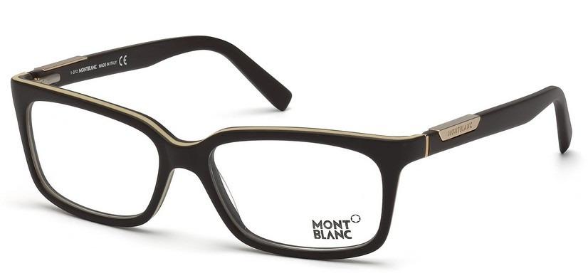 7dfcb5af2c565 Armação Óculos Mont Blanc Original C estojo E Frete Grátis - R ...