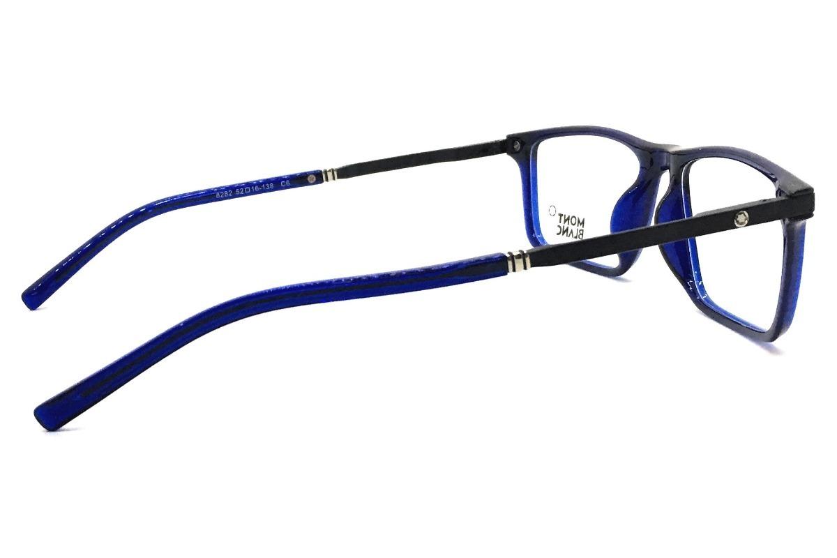 Carregando zoom... mont blanc armação óculos 4 armação óculos grau original  mont blanc acetato leve 12x b3a86d874c