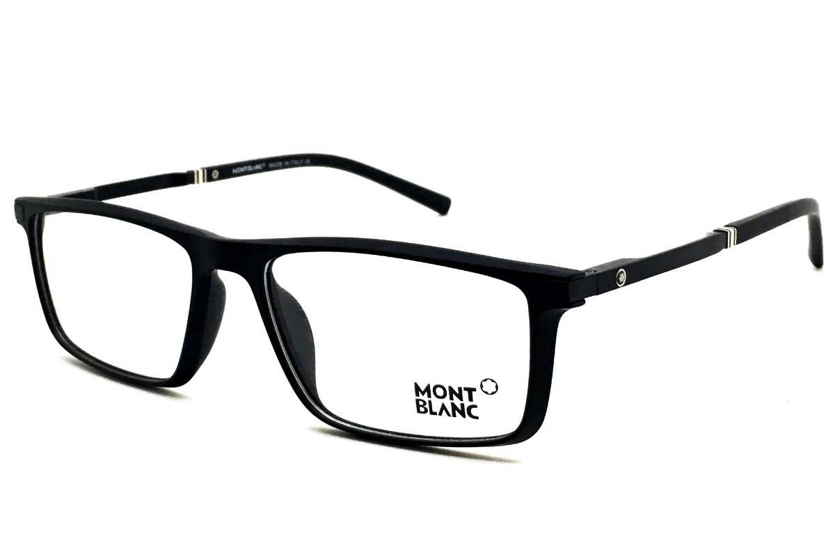 5ef0943e88e54 Carregando zoom... mont blanc armação óculos. Carregando zoom... armação  óculos grau original mont blanc acetato leve 12x