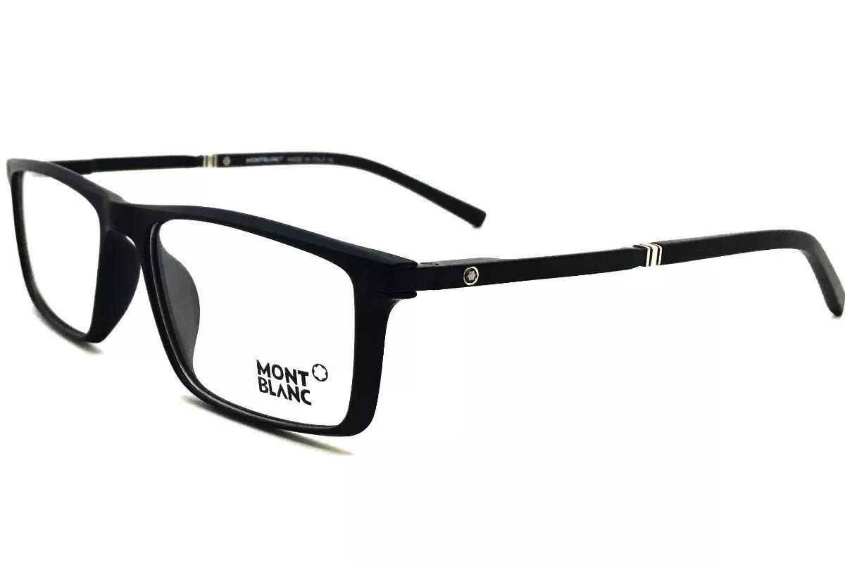 Carregando zoom... mont blanc armação óculos. Carregando zoom... armação  óculos grau original mont blanc mb82 acetato leve e7c1d51fb0