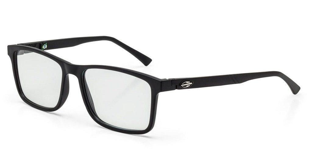bd614b5583f2e Armação Oculos Grau Mormaii Poa M6042a1453 Preto Fosco - R  129,00 ...