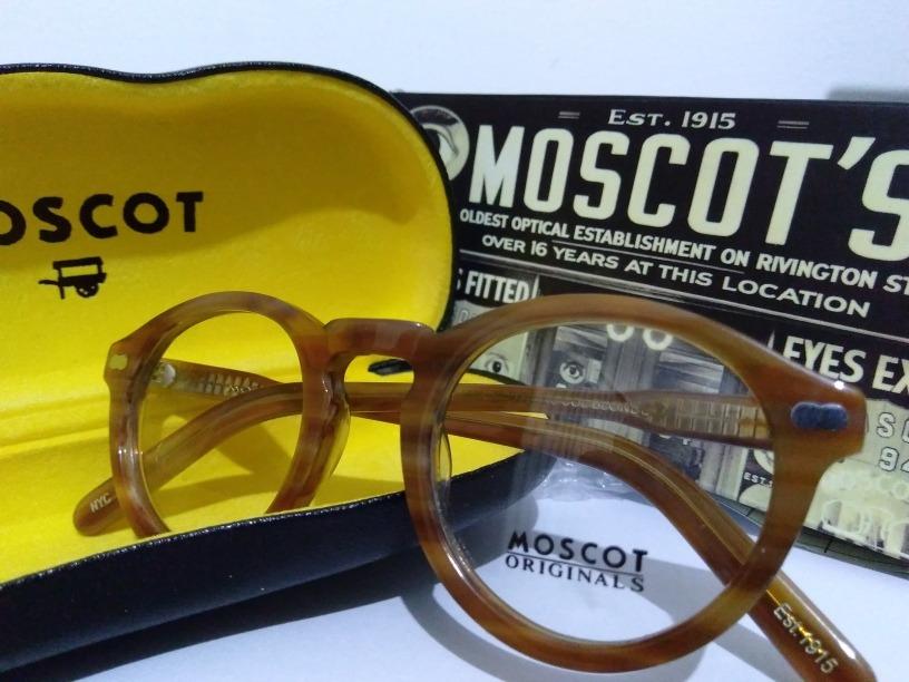Armação Óculos Moscot Miltzen Blonde - R  500,00 em Mercado Livre aef25973ac