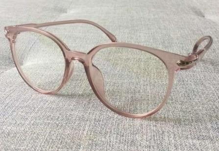 6aabeee1ca8f8 Armação Óculos Mulher Feminino Transparente Promoção A15 - R  39