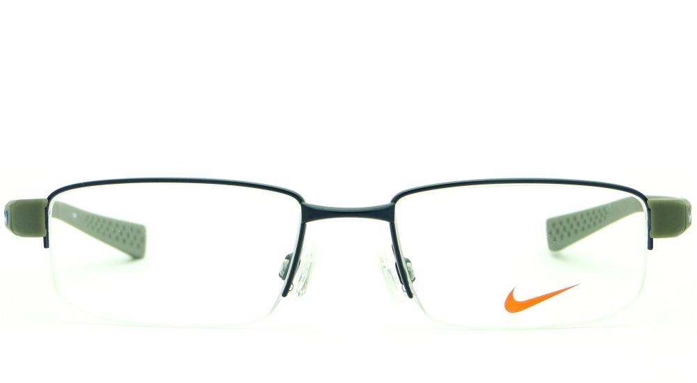 6c768404fddf2 Armação Para Óculos De Grau Nike 8160 405 Masculina Esporte - R  449 ...