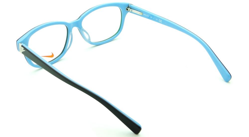 75d11660eacef Armação Óculos De Grau Nike 5516 Feminina Retrô Original - R  359