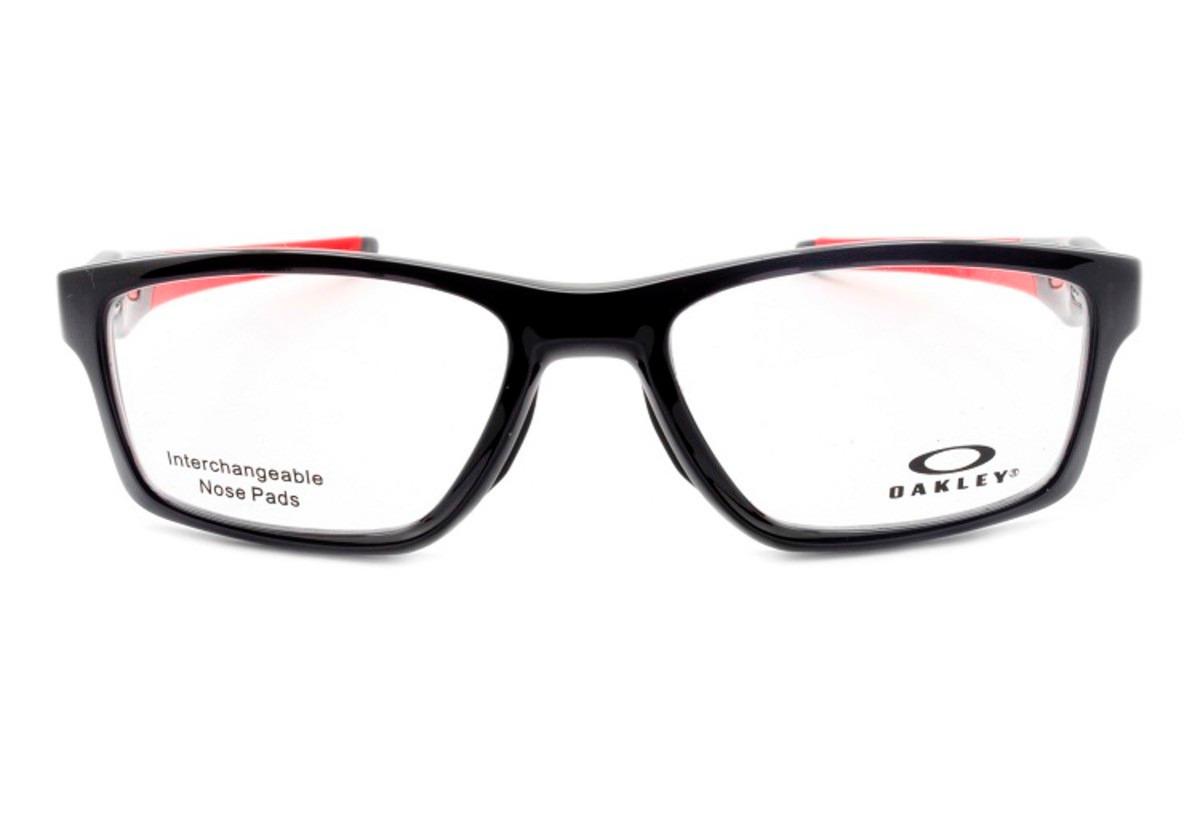 13f3f47af7b76 Armação Óculos Grau Oakley Crosslink Mnp Ox8090 55 Original - R  449 ...