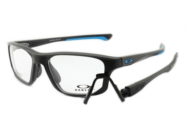 4b02b0f344883 armação óculos oakley oph crosslink fit satin black sky 8136. Carregando  zoom.