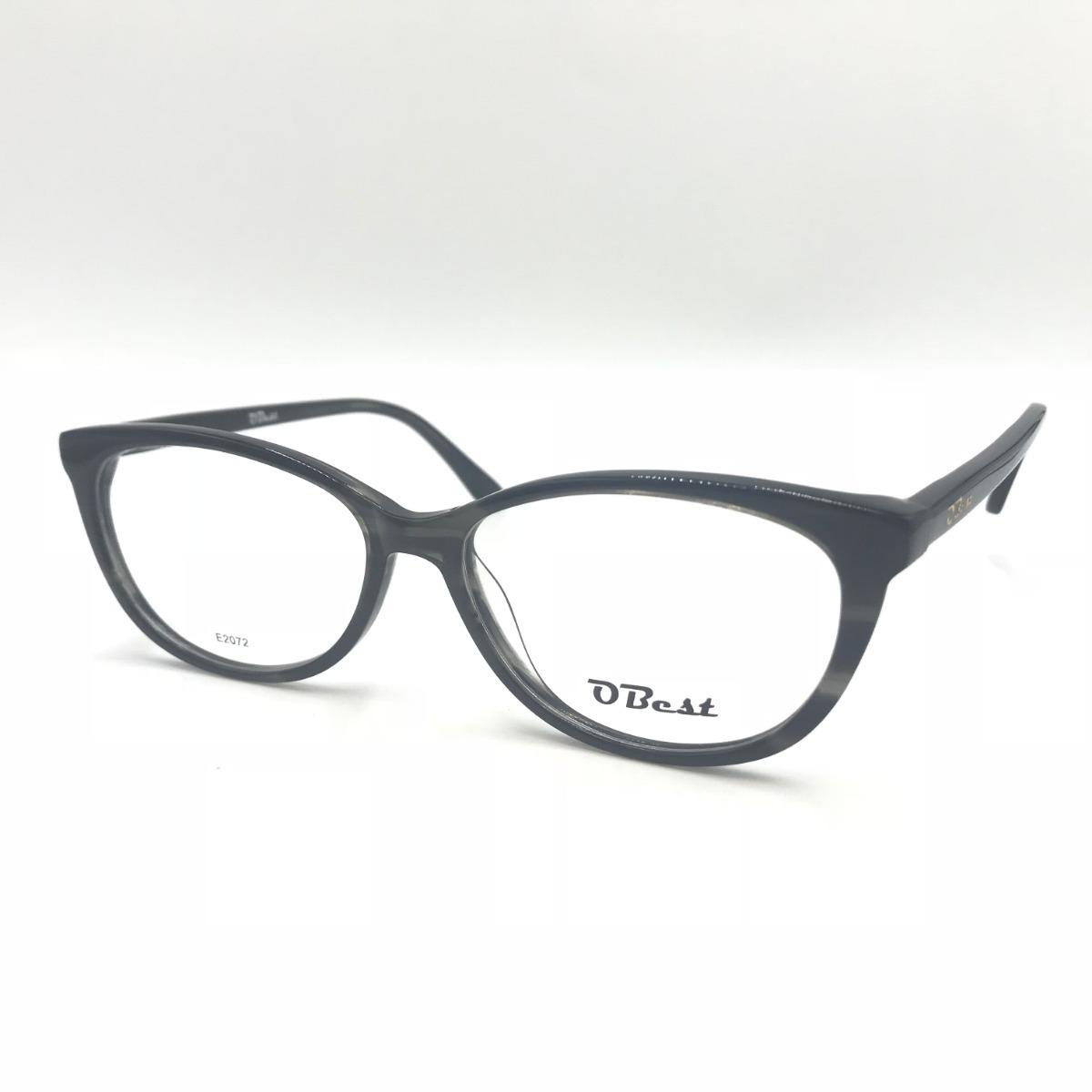 armação óculos obest 2072 feminino gatinho acetato original. Carregando  zoom. 4f8a489420