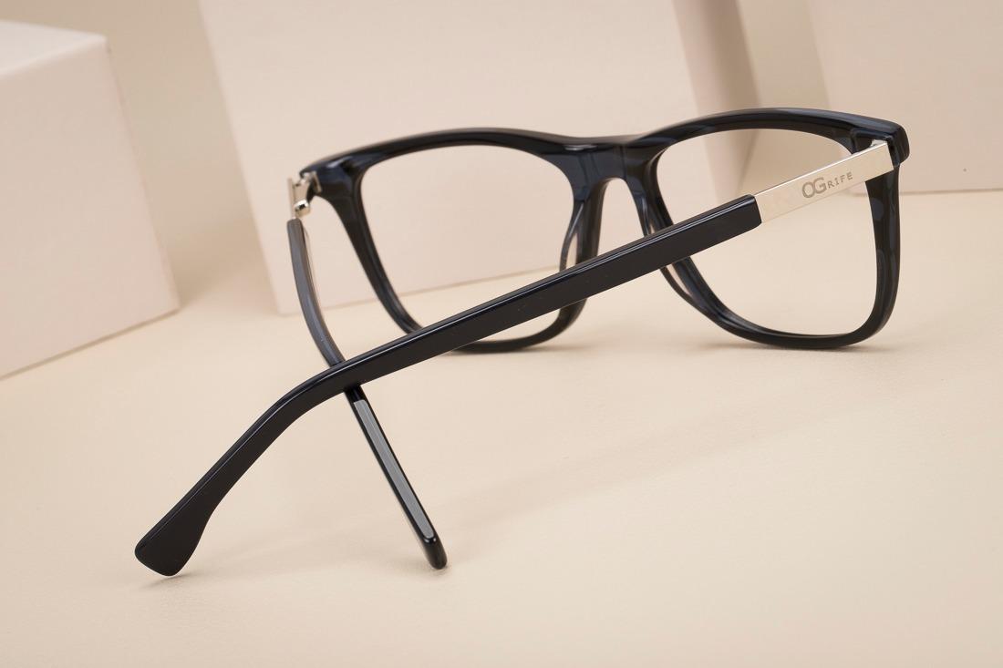 d87ae013fe1d1 armação oculos ogrife og 1118-c com lente sem grau masculino. Carregando  zoom.