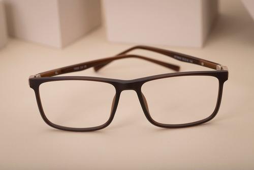 armação oculos ogrife og 1507-c masculino com lente sem grau