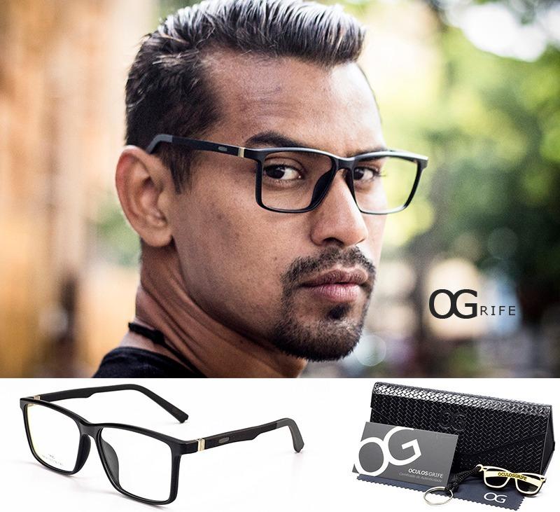 d04cf954f armação oculos ogrife og 364-c masculino com lente sem grau. Carregando  zoom.