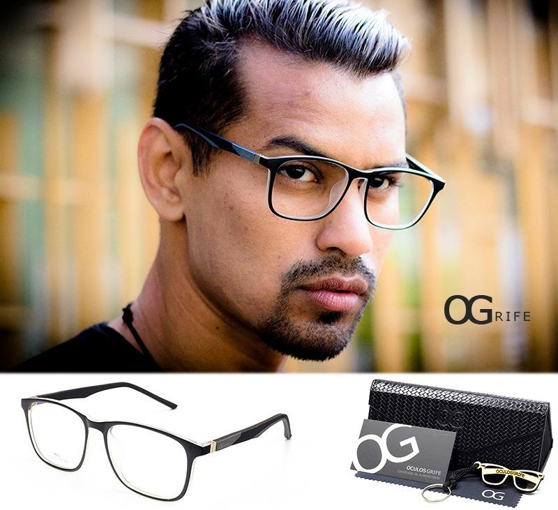 8146f1c84 armação oculos ogrife og 367-c masculino com lente sem grau. Carregando  zoom.